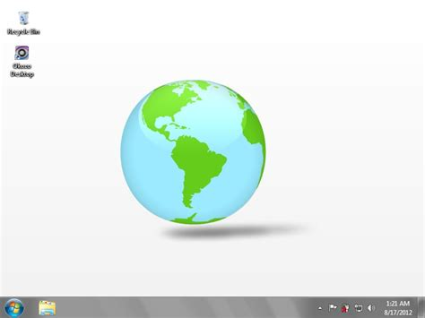 3D Spinning Globe Wallpaper Free Download and Review