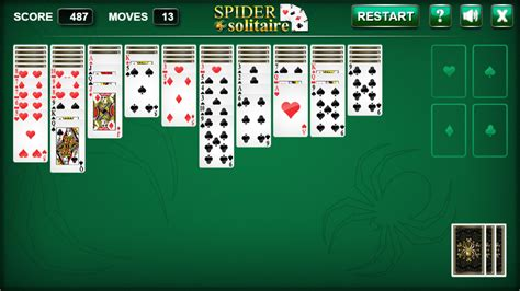 Spider Solitaire - HTML5 Solitaire Game by codethislab