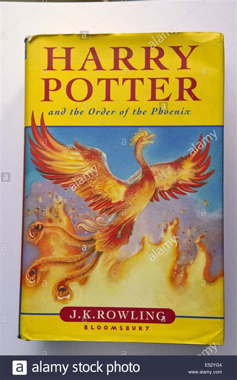Harry Potter and The Order of The Phoenix book by J
