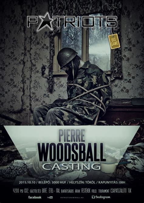 Pierre Woodsball Casting Paintball Big Game – Patriots